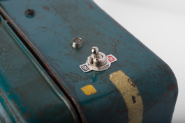 Blue Gold Toolbox Detail