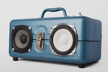 Blue Tacklebox Front