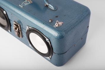 Blue Tacklebox Top