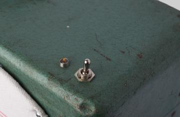 Green Tacklebox Top
